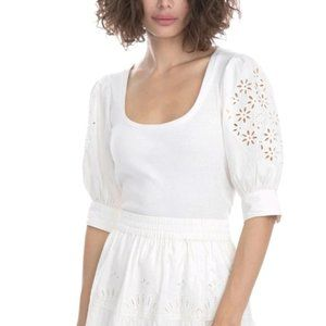 NWT Generation Love Liv Embroidered Top size Large